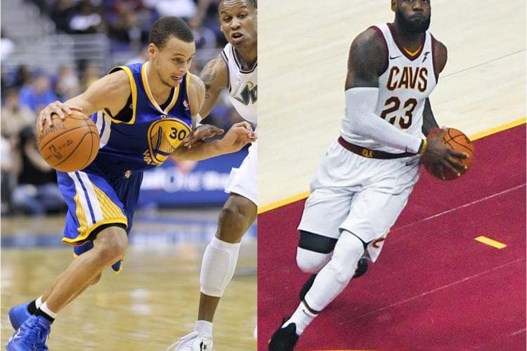 LeBron James v Stephen Curry The Stone Clinic