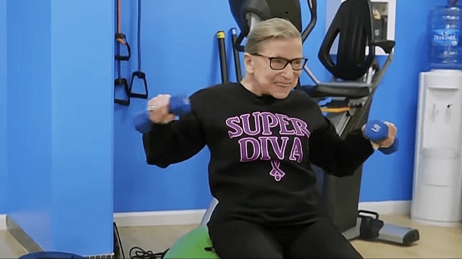 RBG: Athlete for Life