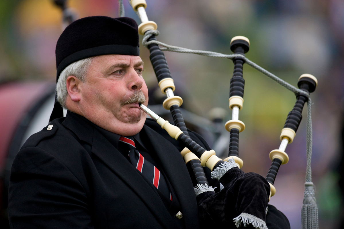 Sounds You Don't Want to Hear - Bagpiper