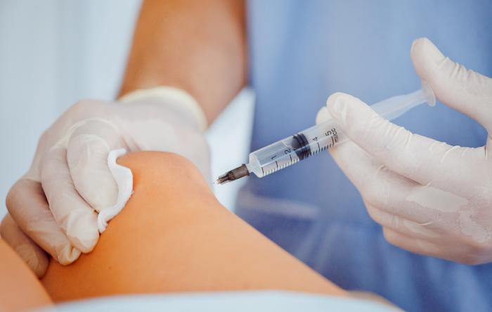 A cortisone injection interferes with the body's natural healing process
