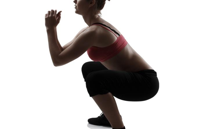 To become a better athlete, the ideal method is the simple squat exercise.