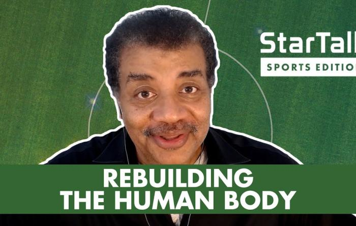 Embedded thumbnail for Dr. Stone on Star Talk with Neil deGrasse Tyson