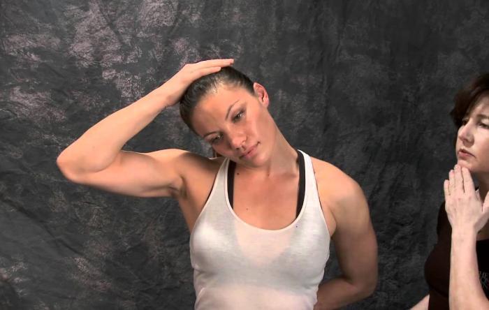Embedded thumbnail for Stretching: Trapezius Stretch