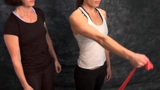 Embedded thumbnail for Shoulder Theraband Flexion Abduction Scaption