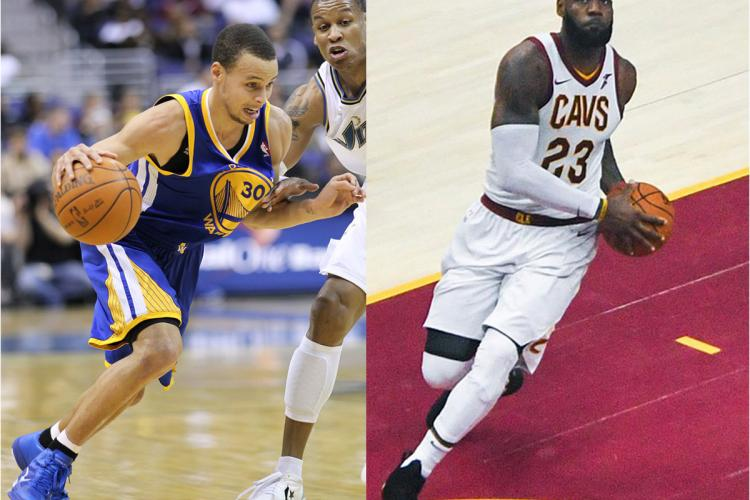 Lebron James & Steph Curry