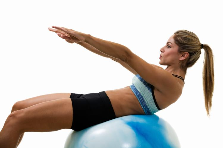 Ab Workout Exercise Ball